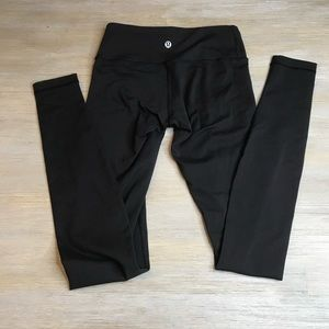 Lululemon Solid Black Leggings 2